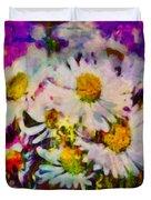 A Splash Of Spring Duvet Cover