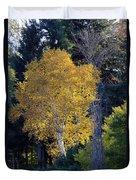 A Splash Of Yellow Duvet Cover