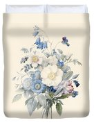 A Spray Of Summer Flowers Duvet Cover