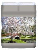 A Spring Walk Duvet Cover