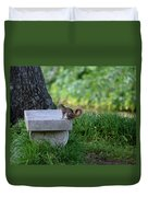 A Squirrel's Day Out Duvet Cover