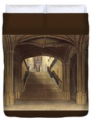A Staircase, Windsor Castle, From Royal Duvet Cover