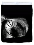 A Stairwell In The Catacombs Of Paris France Duvet Cover