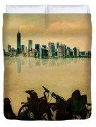 A Staten Island Fantasy Duvet Cover