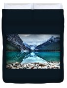 A Still Day At Lake Louise Duvet Cover