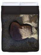 A Stone Heart Duvet Cover