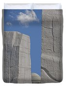 A Stone Of Hope Duvet Cover by Susan Candelario