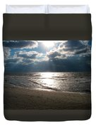 A Storm Is Brewing Over The Gulf Coast Duvet Cover
