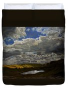 A Summer Day On Cottonwood Pass Duvet Cover