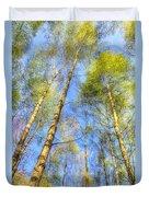 A Summer Forest Duvet Cover