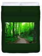 A Summer Trail Duvet Cover