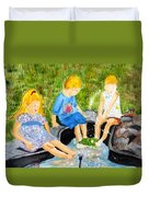 A Summers Day Duvet Cover