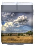 A Summers Evening Farm Duvet Cover