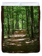 A Summer's Walk Duvet Cover