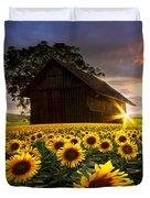 A Sunflower Moment Duvet Cover