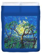 A Sunny Day For The Tree Duvet Cover