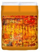 A Sunset Of Angels Duvet Cover