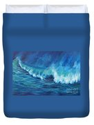 A Surfer's Dream Duvet Cover