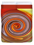 A Swirl Of Colors From The Sun And Earth Duvet Cover
