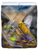 A Tale Of Two Worlds Duvet Cover