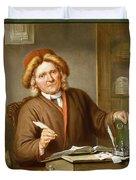 A Tax Collector, 1745 Duvet Cover