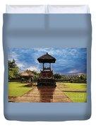 A Temple Duvet Cover