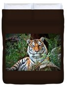 A Tigers Glance Duvet Cover