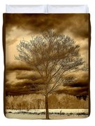A Tree At Appleton Duvet Cover