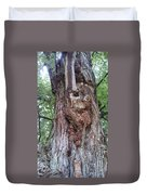 A Tree Creature Duvet Cover