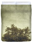 A Tree In The Fog 2 Duvet Cover