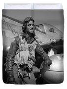 A Tuskegee Airman Duvet Cover