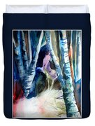 A Unicorn In The Distance Duvet Cover