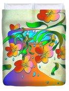 A Vase Of Flowers Duvet Cover