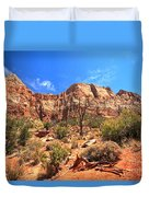 A View Along The Watchman Duvet Cover