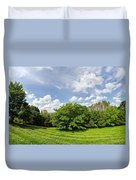 A View From Burrow Mump Duvet Cover