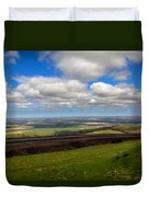 A View From Cabbage Hill Duvet Cover