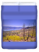 A View From Okanagan Mountain Duvet Cover