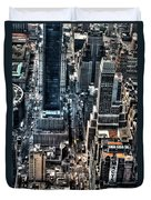 A View From The Empire State Building Duvet Cover