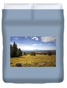 A View From The Peaks  Duvet Cover