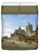 A View In Cologne Duvet Cover