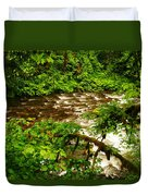 A View Of Eagle Creek Duvet Cover