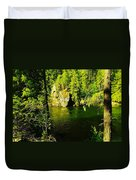 A View Of The Seleway River Duvet Cover