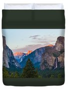 A View To Behold Duvet Cover