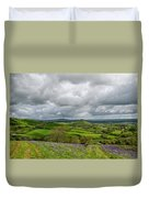 A View To Colmer's Hill Duvet Cover