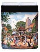 A Village Wedding Duvet Cover