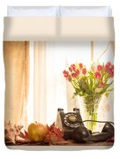 A Voice From The Past Duvet Cover