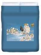 A Voice Of Joy And Gladness Duvet Cover