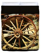 A Wagon Wheel Duvet Cover