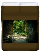 Pathway Cathedral Grove Duvet Cover