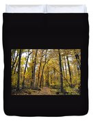 A Walk In The Dune Land Forest Duvet Cover